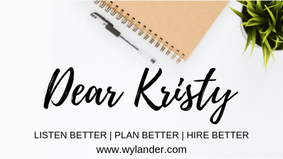 dear kristy blog, wylander blog, wylander dear kristy