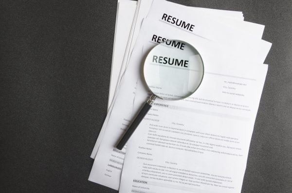 construction job resume tips